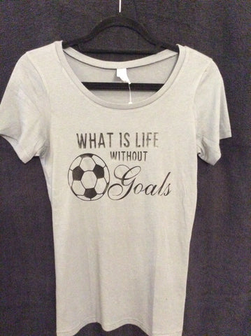 "Alternative Earth ""Soccer Goals"" T-Shirt"