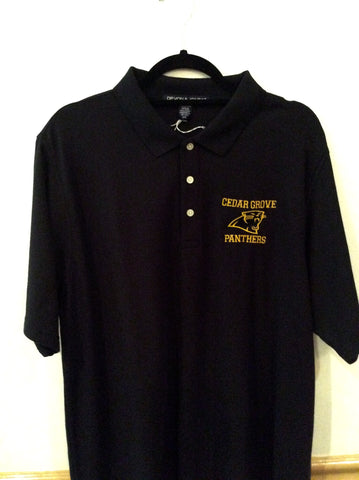 Devon & Jones Cedar Grove Logo Polo