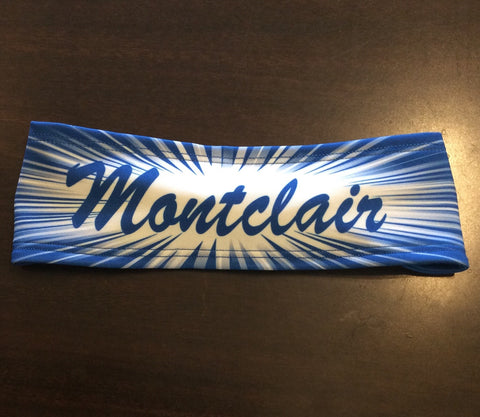 Sublimated Reversible 'Montclair' Headband