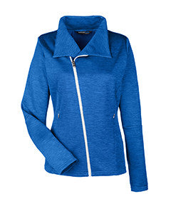 Ash City North End Ladies' Amplify Mélange Fleece Jacket
