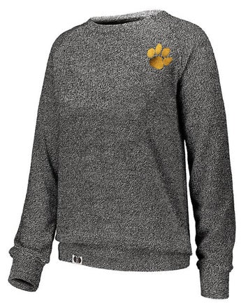 Holloway Cedar Grove Paw Ladies Cuddly Crewneck