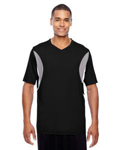 Team 365 Short-Sleeve Athletic V-Neck All Sport Jersey