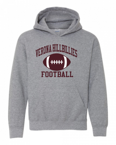Gildan Verona Hillbillies Football Sweatshirt