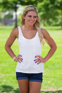 Piko Tank Top - Off White - Piko Clothing - 1