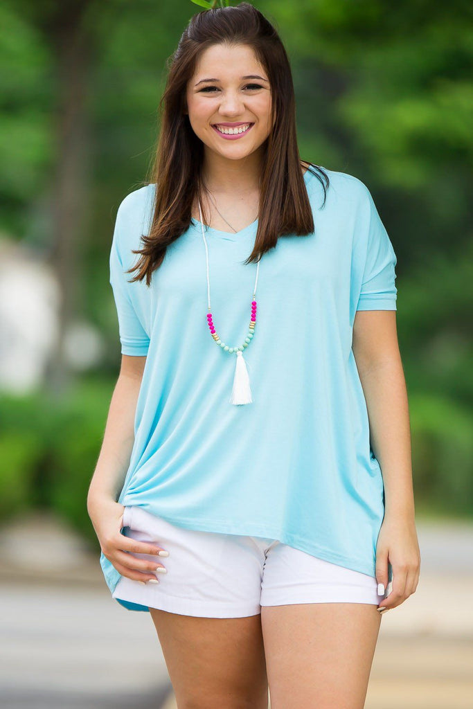 Short Sleeve Piko Top - Limpet Shell - Piko Clothing - 1
