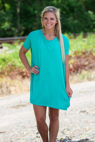Half Sleeve Piko Tunic - Light Green - Piko Clothing