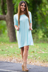 Half Sleeve Piko Tunic - Mint - Piko Clothing