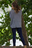 Long Sleeve Piko Sweater - Charcoal - Piko Clothing