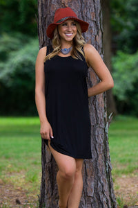 Tank Top Piko Dress - Black - Piko Clothing - 1