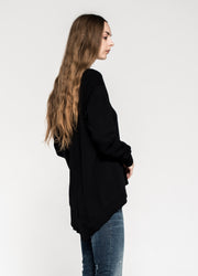 L/S Basic Big Backslant Sweatshirt