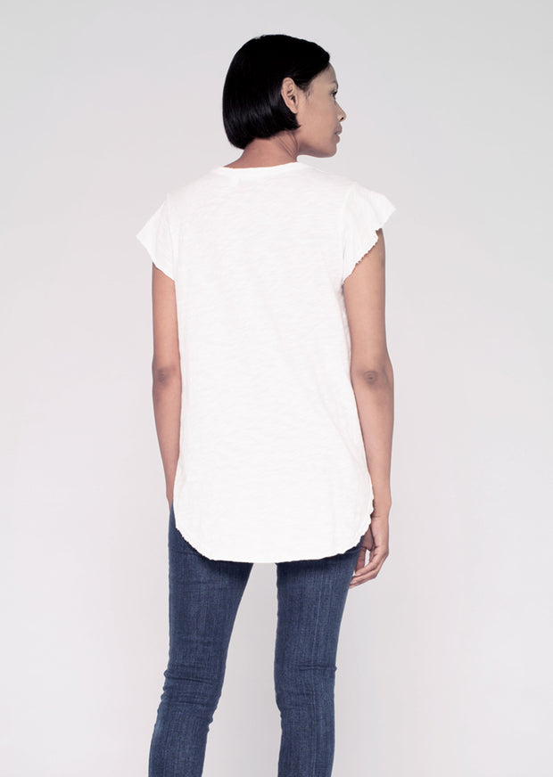 Raw Flutter Shirt-tail
