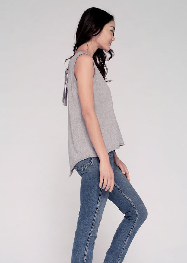 Muscle T Tunic W/ Open Back