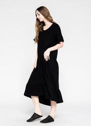 Drop Torso Tee Dress Shifted Flounce