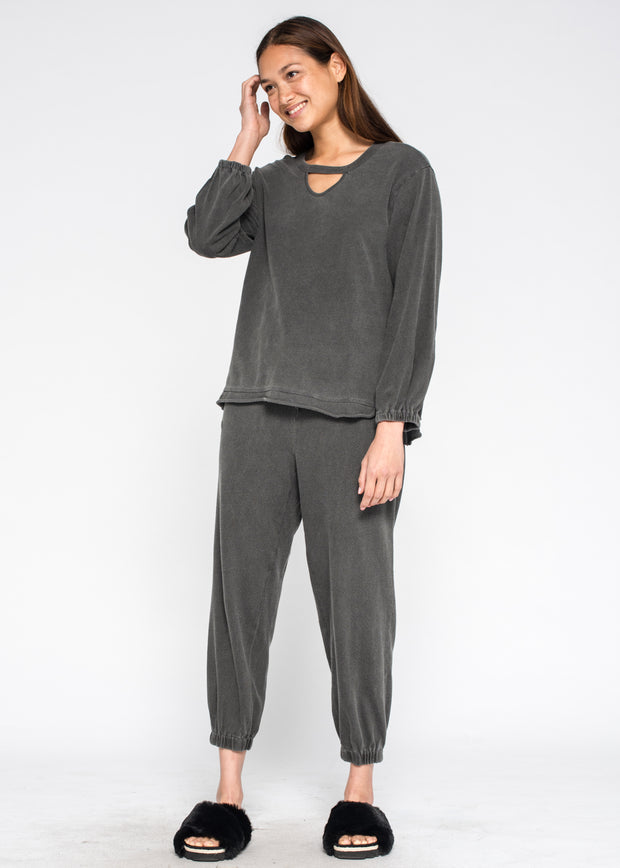 Elastic Cuff Jogger Ankle Length