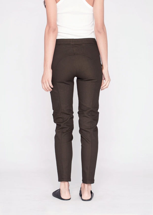 Seamed Pocket Skinny Pant