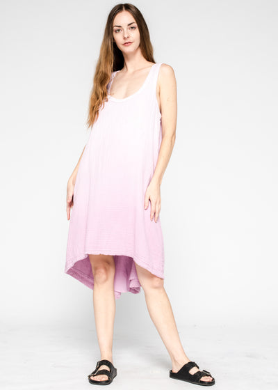 Mid Calf Hi Lo Tank Dress