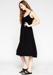 Tiered Slip Dress Fully Lined