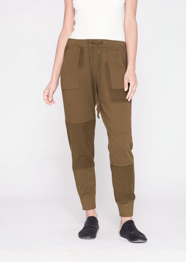 Patched Easy Mixed Pocket Jogger
