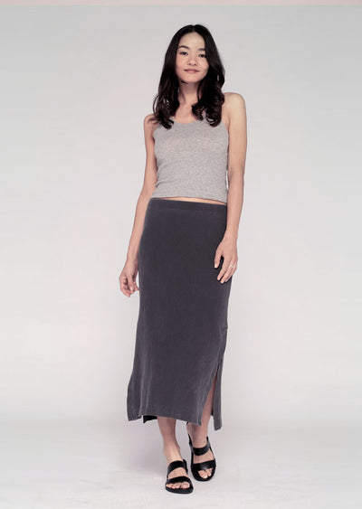 Long Skirt W/ Side Slit