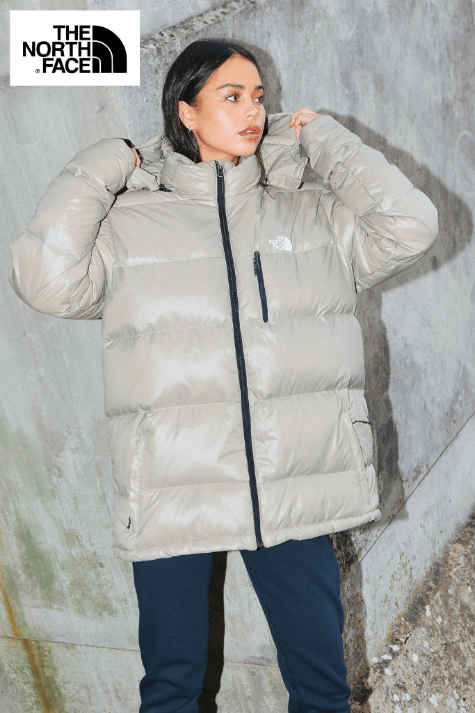 The North Face Unisex Beige Summit Series Puffer Jacket