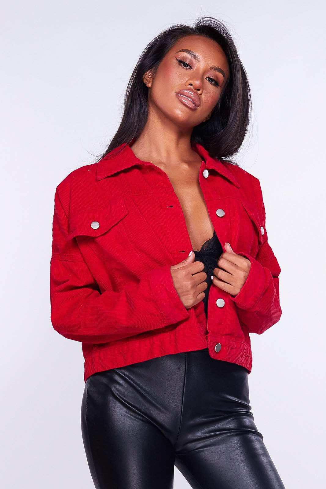Red Cord Jacket