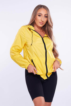 Yellow Longline Raincoat Mac