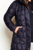 Asics Black Performance Down Long Jacket