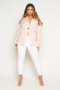 Light Pink Buttoned Blazer