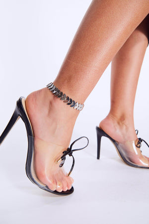 Silver Semi Circle Chain Anklet