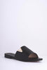 Black Pu Pointed V Bar Sliders