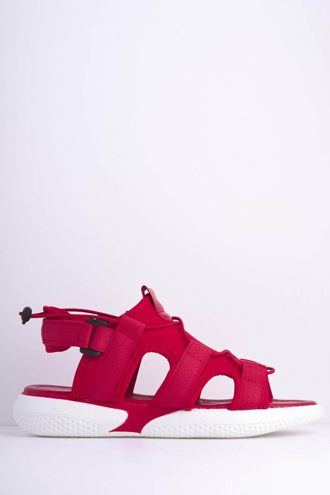 Red Velcro Scuba Sports Sandals