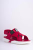 Red M Scuba Cross Over Velcro Sports Sandals