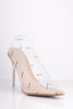 Perspex 'Paris' Pointed Stiletto Heels