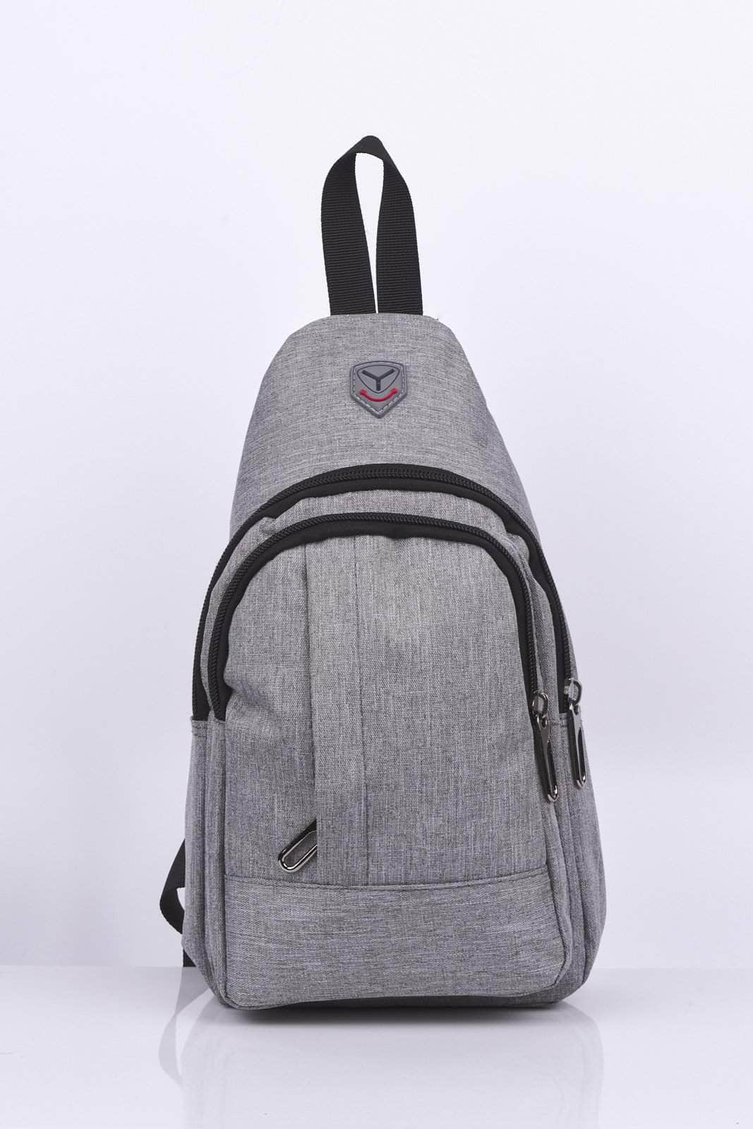 Unisex Grey Sports Bum Bag