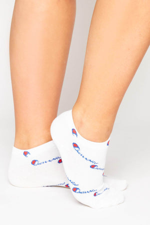 White Champion Ankle Socks