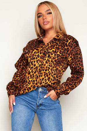 Leopard Printed Shacket