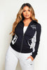 Puma French Terry Black & Grey Sports Jacket