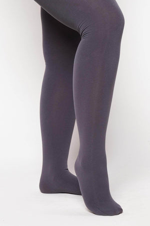 Grey Stretch Lycra Tights