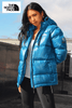 The North Face Unisex Sky Blue Summit Series Puffer Jacket