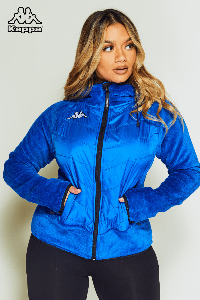 Kappa Blue 6Cento Fleece Ski Jacket