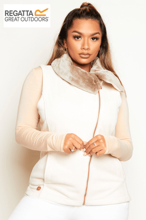 Regatta Beige Heavyweight Fleece Gilet