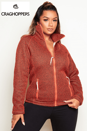Craghoppers Brick Textured Knit Jacket