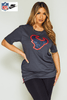 Nike Dry Fit Grey NFL Houston Texans T.Shirt