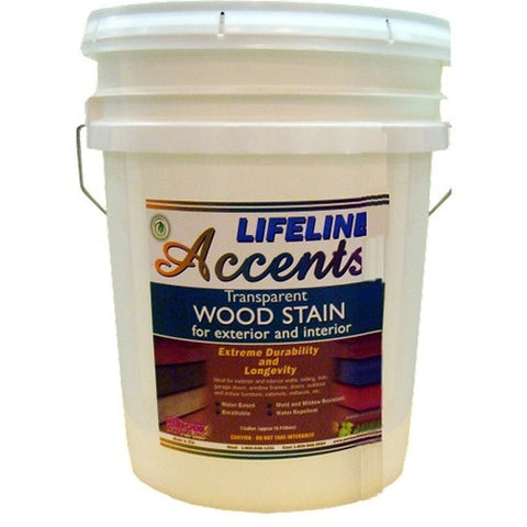 Lifeline Accents EXTERIOR Transparent Wood Stain