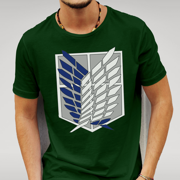 AOT Attack On Titan - Wings of Freedom T Shirt Size S M L XL XXL Anime Gift New