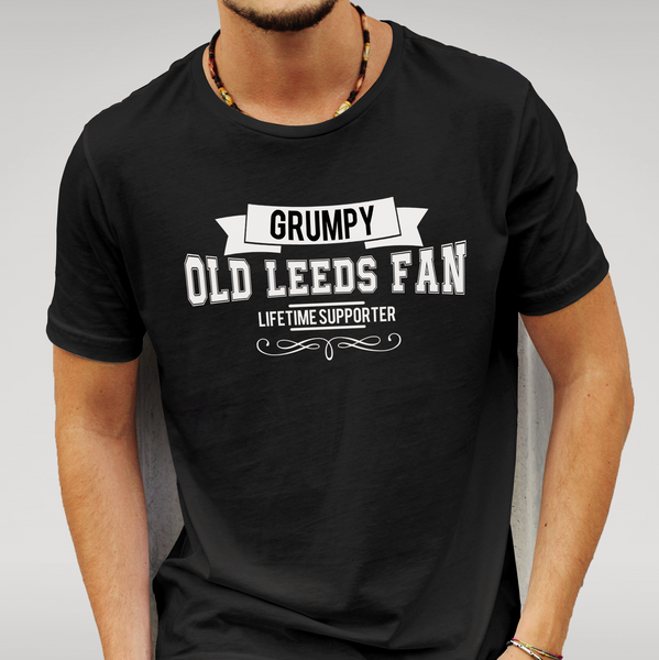 Men's Grumpy old Leeds fan T-shirt