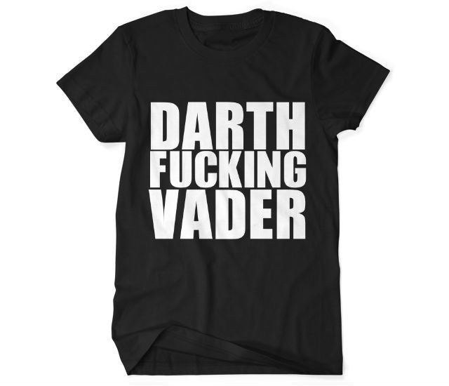 Men's Darth F**king Vader T-shirt