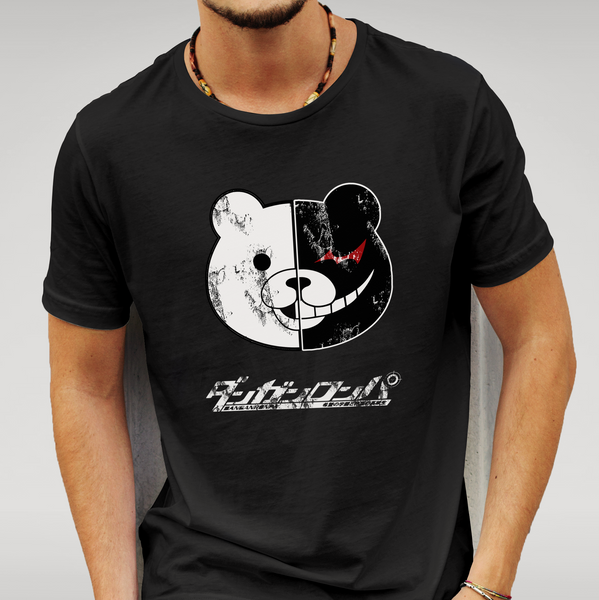 Dangan Ronpa - Monokuma Bear T Shirt Size S M L XL XXL Anime Gift New