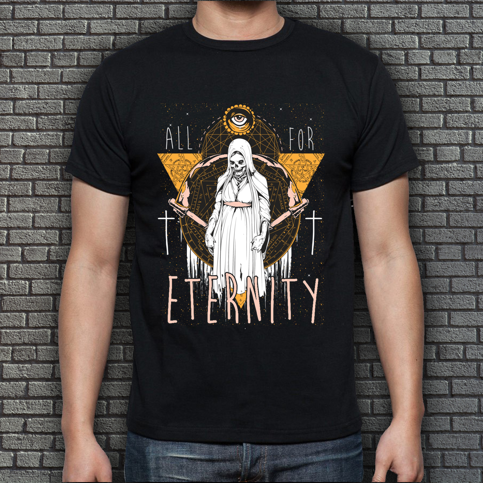Men's Black Eternity T-Shirt
