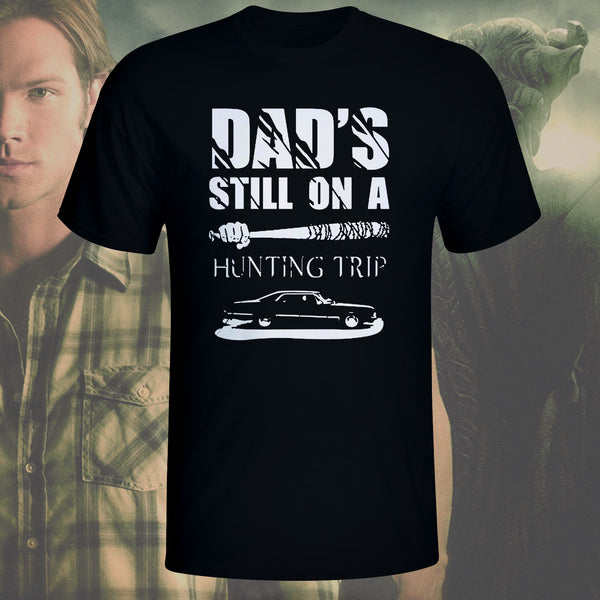 Black Hunting Trip T-shirt - sizes up to 5XL!